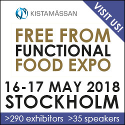 FREE FROM FUNCTIONAL FOOD EXPO 2018