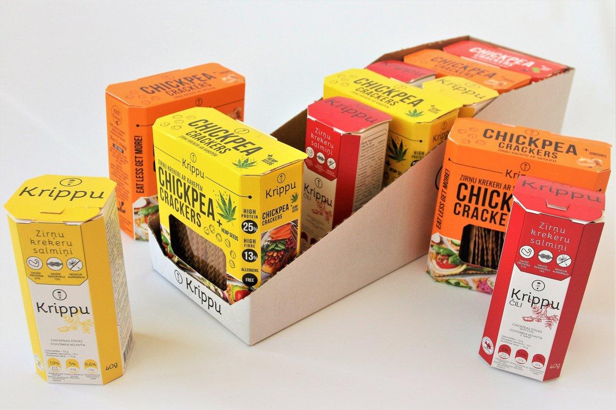 MIX BOX Crackers & sticks